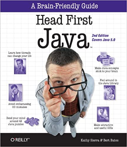 Książka Head First Java